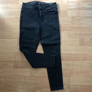 American Eagle Black HiRise Super Stretch Jegging